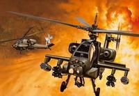 Вертолет AH-64A Apache
