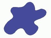 Краска Mr.Color, цвет: Характерный синий (основа), тип: Полуматовый