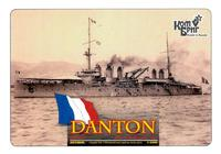Пластиковая модель броненосца Дантон