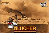 Немецкий крейсер Blucher (Корпус по ватерлинию)