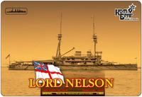 Броненосец HMS Lord Nelson Battleship, 1908 (Full Hull version)