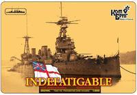 Линейный крейсер HMS Indefatigable Battlecruiser (Полная версия корпуса)