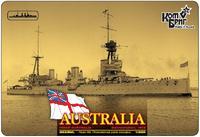 Линейный крейсер HMAS Australia Battlecruiser (Полная версия корпуса)