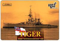Линкор Тайгер (HMS Tiger) - самый красивый корабль Королевского флота.