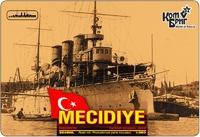 Турецкий крейсер Mecidiye 1903 (Корпус по ватерлинию)