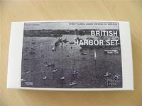 British Tug-boat + Launch + Boats set