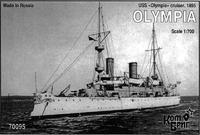 USS Olympia Cruiser, 1895