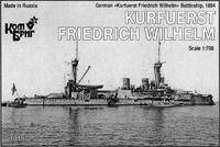 German Kurfuerst Friedrich Wilhelm Battleship, 1894