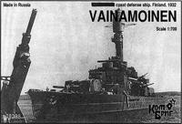 Сборная модель броненосеца береговой обороны «Вяйнямёйнен»