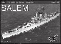 Американский тяжелый крейсер 'Salem' (CA-139), 1949г.