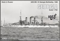 Эскадренный броненосец USS BB-15 Georgia Battleship, 1906