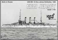 """Эскадренный броненосец """"Нью Джерси"""" (New Jersey)"""
