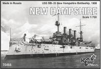 Эскадренный броненосец Нью Хемпшир (New Hampshire)