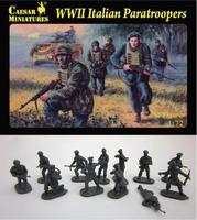 Итальянские десантники, Второй мировой войны