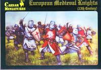 Европейские средневековые рыцари, 13-го века