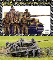 WWII Немецкий танковый экипаж