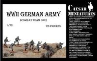 Подразделение немецкой пехоты, набор 1