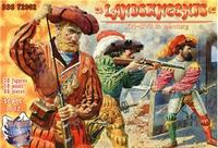 Ландскнехты , XVI- XVII век , часть 1