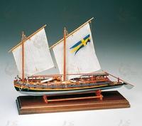 Сборная модель корабля CANNONIERA SVEDESE 1775