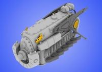 Двигатель 1/48 DB 601 A/N (рекомендовано для Eduard)
