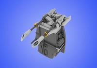 Верхние пулеметы MG 17 для Bf 109E, рекомендовано для Eduard