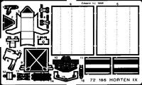 Фототравление 1/72 Horten IX/Go-229 (рекомендовано для Revell)