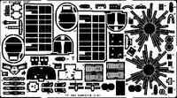 Фототравление 1/72 C-47 Dacota, (рекомендовано для Italeri)
