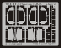 Фототравление 1/72  F-4 Phantom заглушки на воздухозаборники (рекомендовано для Hasegawa)