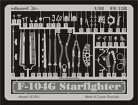 Фототравление 1/48 F-104G Старфайтер (рекомендовано для HASEGAWA)