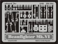 Фототравление 1/48 Бофайтер Mk.VI (рекомендовано для Tamiya)