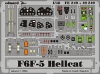 Фототравление 1/48 F6F-5 Хелкет (цветная, рекомендовано для Hasegawa)
