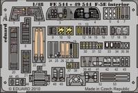 Фототравление 1/48 F-5E интерьер (цветная, рекомендовано для AFV Club)