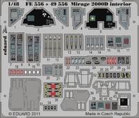 Фототравление 1/48 Mираж 2000D интерьер (рекомендовано для KINETIC MODEL)