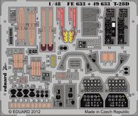 Фототравление 1/48 T-28D (рекомендовано для Roden)
