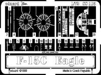 Фототравление 1/72 F-15C Игл (рекомендовано для Academy)