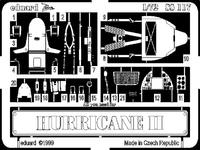 Фототравление 1/72 Харрикейн II (рекомендовано для Revell)