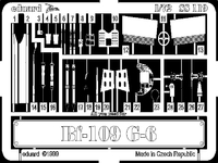 Фототравление 1/72 Bf-109G-6 (рекомендовано для Italeri)
