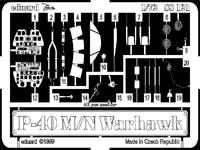 Фототравление 1/72 P-40M/N (рекомендовано для Academy)