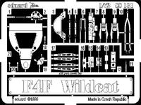 Фототравление 1/72 F-4F Ваилдкэт (рекомендовано для Hasegawa)