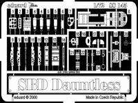 Фототравление 1/72 SBD Донтлесс (рекомендовано для Hasegawa)