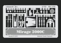 Фототравление 1/72 Mираж 2000C (рекомендовано для Italeri)