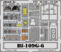 Фототравление 1/72 Bf-109G-6 (цветная, рекомендовано для Hasegawa)