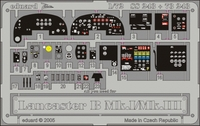 Фототравление 1/72 Ланкастер B Mk.I/Mk.III (цветная, рекомендовано для Hasegawa)