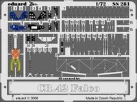 Фототравление 1/72 Фиат CR-42 Фалько (цветная, рекомендовано для Italeri)