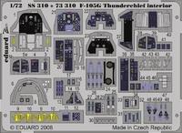 Фототравление 1/72 F-105G Thunderchife интерьер, цветная, (рекомендовано для Trumpeter)