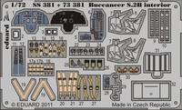 Фототравление 1/72 Буканир S.2B интерьер (цветная, рекомендовано для Airfix)