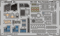 Фототравление 1/72 Sea Venom FAW.21 самоклеющееся (рекомендовано для CyberHobby)