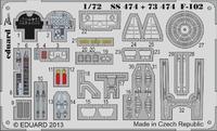 Фототравление 1/72 F-102 самоклеющееся (рекомендовано для Meng)