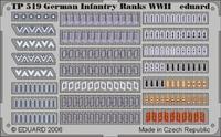 Фототравление 1/35 Знаки отличия немецкой пехоты 2 МВ