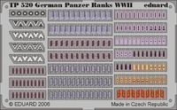 Фототравление 1/35 Знаки отличия немецких танкистов 2 МВ